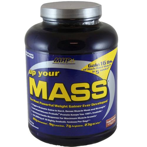 MHP Up Your Mass Fudge Brownie - 5 lbs