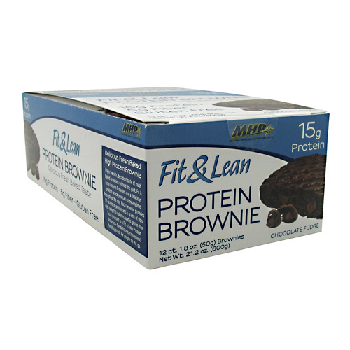 Fit & Lean Protein Brownies