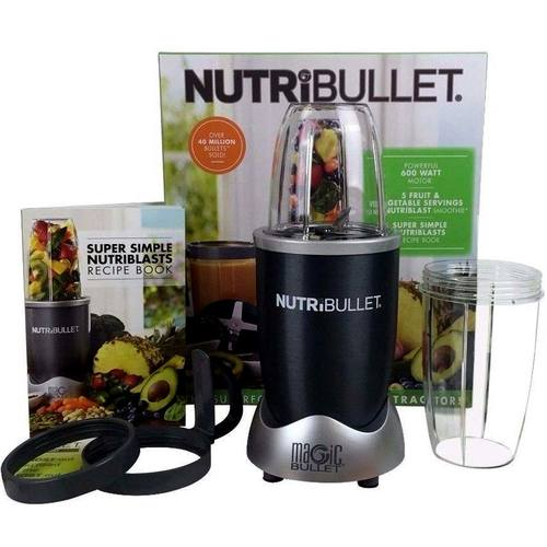 Magic Bullet NutriBullet 600, Gray - 1 NutriBullet System ...