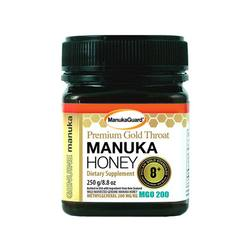 ManukaGuard Premium Gold Throat Manuka Honey 8+