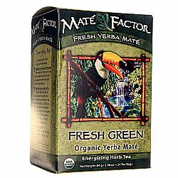 Mate Factor Fresh Green Organic Yerba Mate Tea