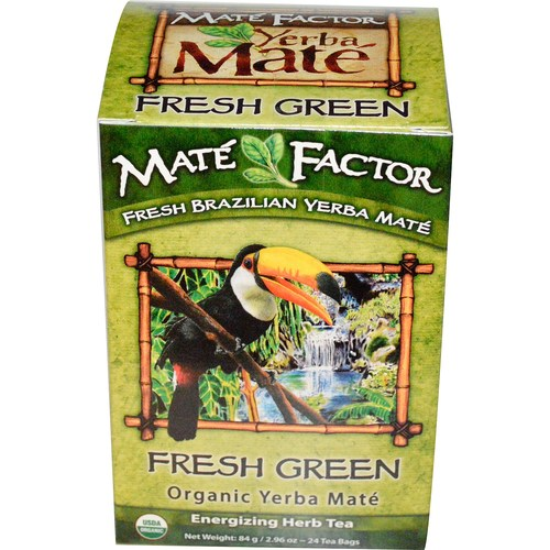Fresh Green Organic Yerba Mate Tea