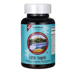 Maximum Living Little Angels Children's Chewable Multivitamin