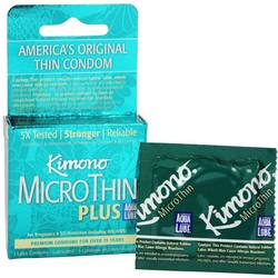 Mayer Laboratories Kimono MicroThin Plus Condoms