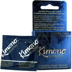 Mayer Laboratories Kimono MicroThin Ultra Thin Condoms