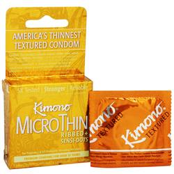 Mayer Laboratories Textured Kimono MicroThin Condoms