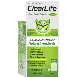 MediNatura ClearLife Allergy Relief Tablets
