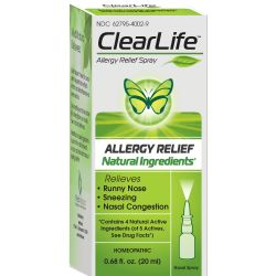 MediNatura ClearLife Allergy Relief Spray