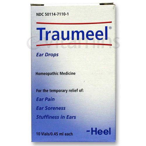 MediNatura Traumeel Ear Drops - 10 Vials ( 45 ml each)