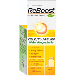 MediNatura ReBoost Flu Symptom Tablets