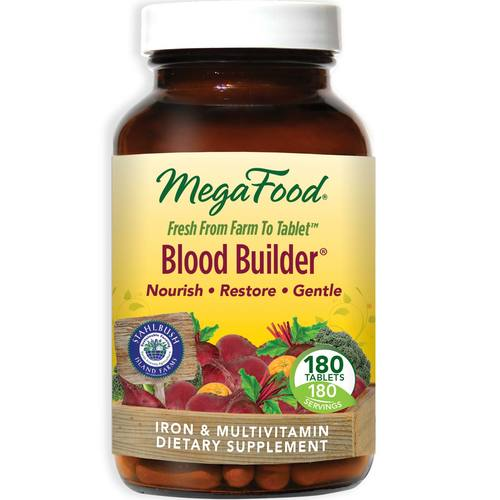 MegaFood Blood Builder - 180 Tablets