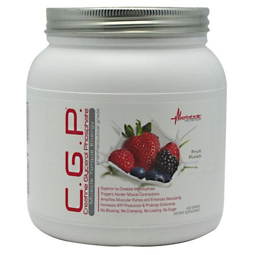 Metabolic Nutrition C.G.P., Fruit Punch - 400 g - MetabolicNutrition-CGPFruit400g.jpg