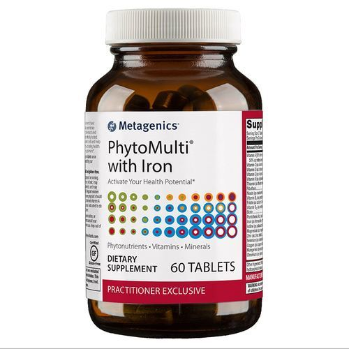 Metagenics PhytoMulti with Iron - 60 Tablets - 115214_front.jpg
