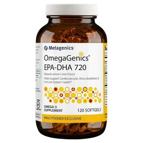 Metagenics OmegaGenics EPA-DHA 720 Lemon Lime - 120 Softgels - 71432_bottle_front.jpg