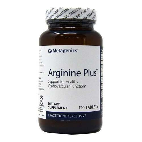 Metagenics Arginine Plus  - 1,500 mg - 120 Tablets - 84547_front2020.jpg
