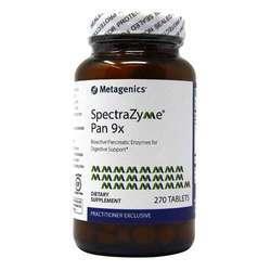 Metagenics SpectraZyme Pan 9x