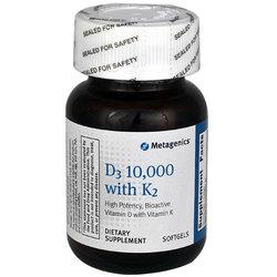 Metagenics D3 10,000 with K2