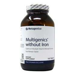 Metagenics Multigenics without Iron - Fast Release Tablet