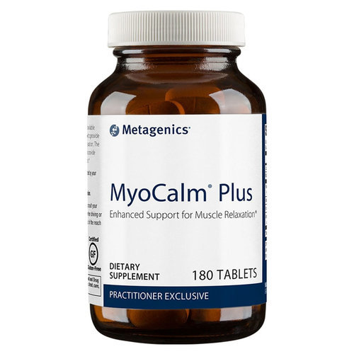 Metagenics MyoCalm Plus  - 180 Tablets  - 84681_bottle_front.jpg