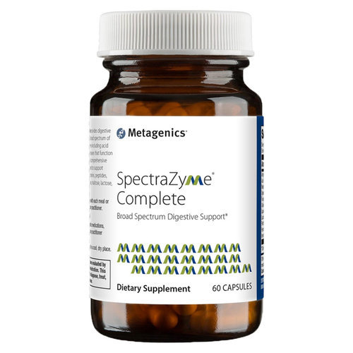 Metagenics SpectraZyme Complete  - 60 Capsules - 84723_bottle_front.jpg