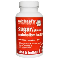 Michael's GlucoseSugar Metabolism Factors (Original)