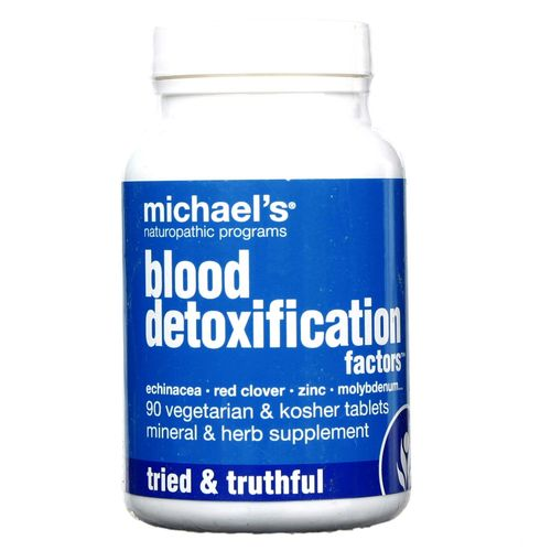 Michael's Blood Detoxification Factors - 90 Tablets - 755929010646_1.jpg