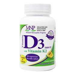 Michael's Vitamin D3 5000 IU with Vitamin K2