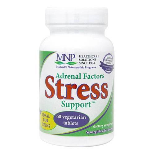 Michael's Adrenal Factors Stress Support - 60 Tablets - 9618_front2020new.jpg