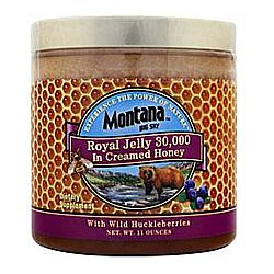 Montana Royal Jelly in Creamed Honey