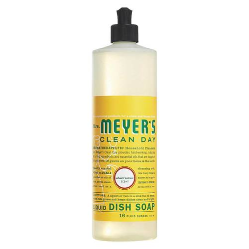 Mrs Meyers Clean Day, Detergente Líquido Lava-Louça - 473 ml - 65724_front.jpg