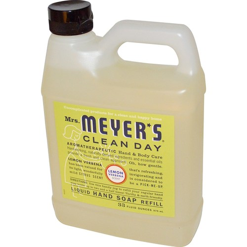 Mrs. Meyers Clean Day Liquid Hand Soap Lemon Verbena - 33 oz refill - 65735_1.jpg
