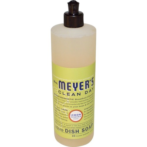 Mrs. Meyers Clean Day Dish Soap Lemon Verbena - 16 oz - 65757_1.jpg