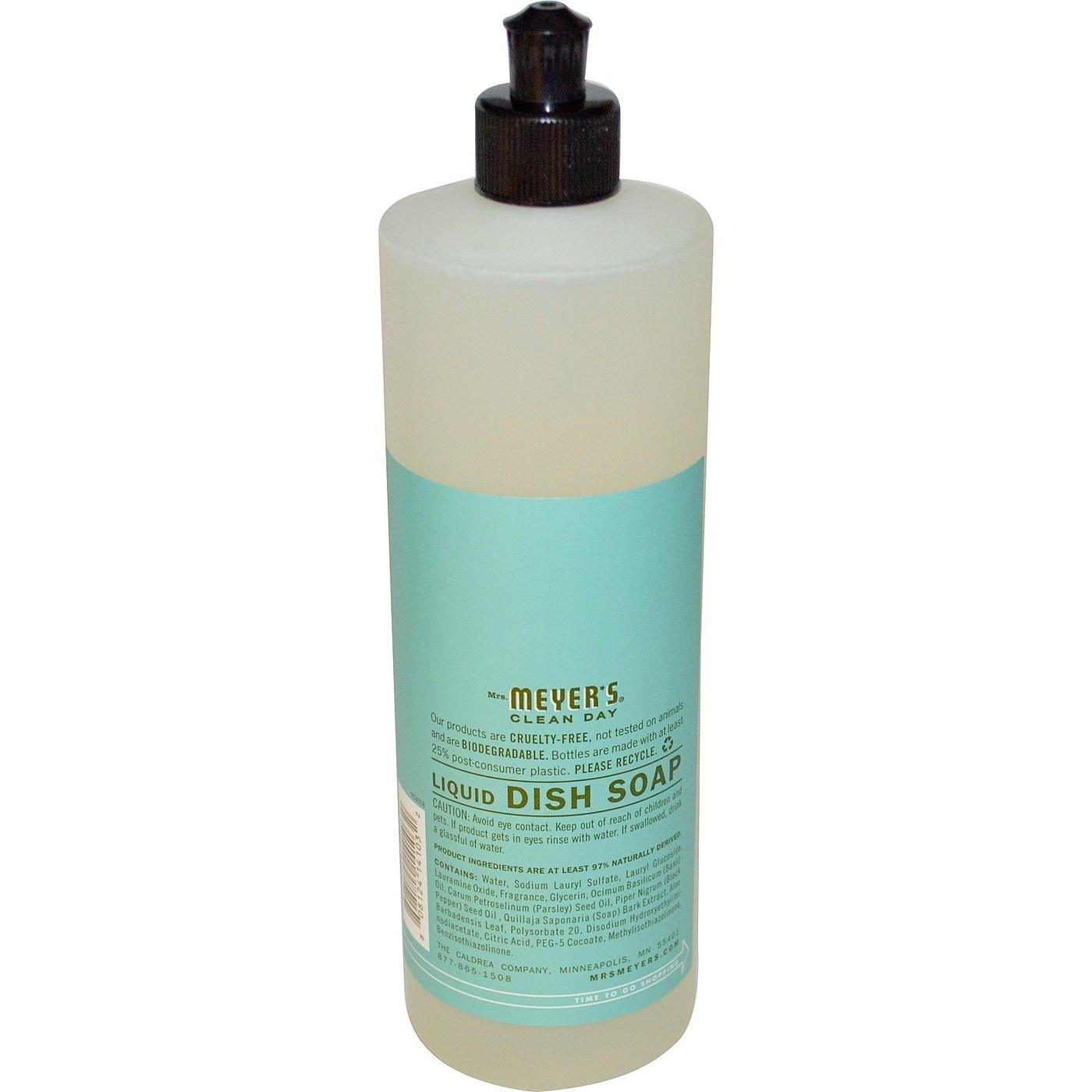 Travel Size Baby Dish Soap