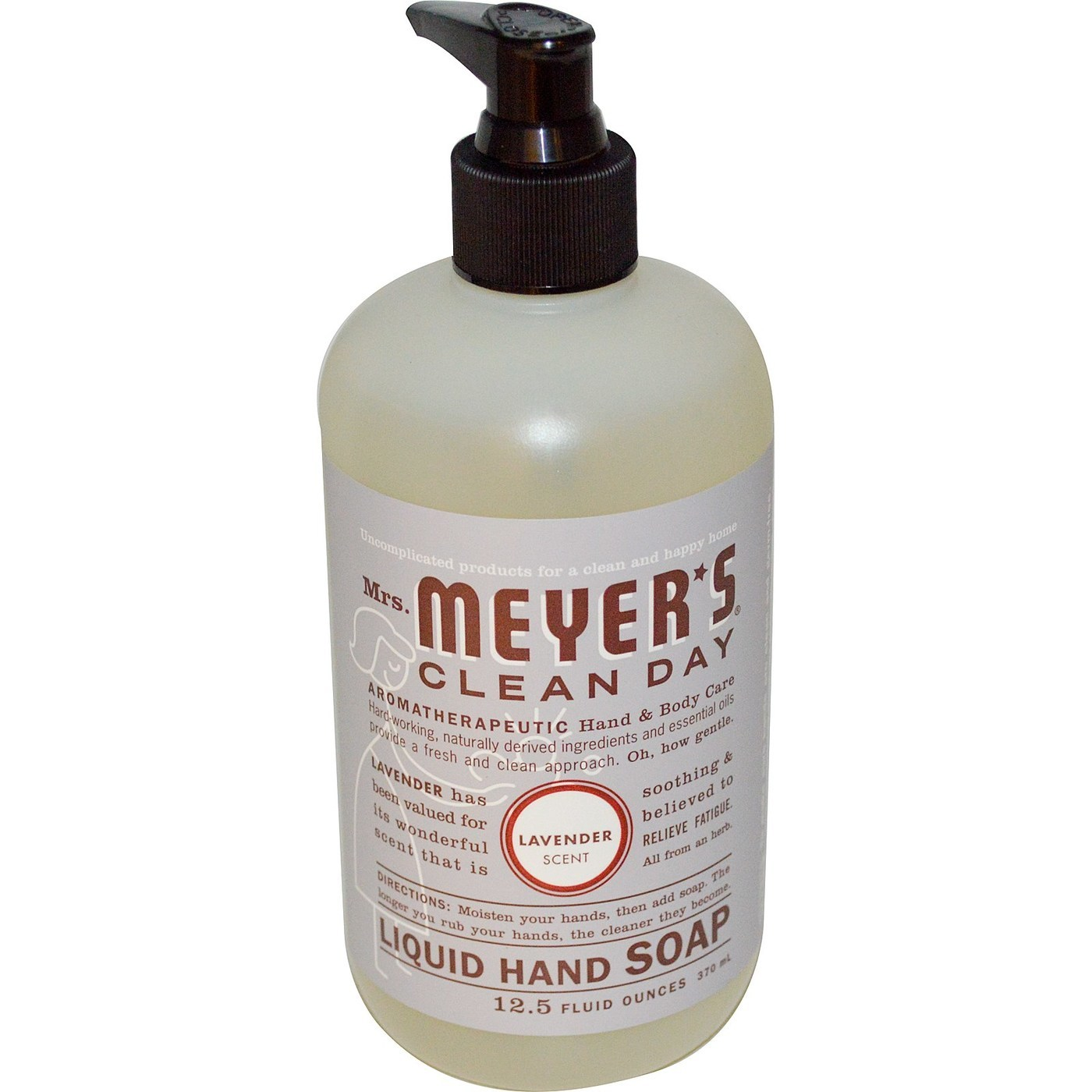 Mrs Meyers Clean Day Liquid Hand Soap Lavender 12 5 Fl