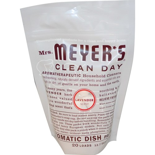 Mrs. Meyers Clean Day Automatic Dish Packs Lavender - 12.7 oz - 65770_1.jpg