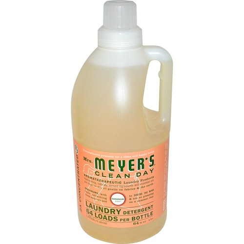 Mrs. Meyers Clean Day Laundry Detergent Geranium - 64 oz - 65781_1.jpg