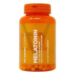 Mt Angel Vitamins Time Released Melatonin