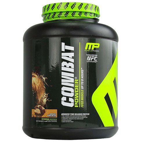 MusclePharm Combat Protein Powder Chocolate Peanut Butter - 4 lbs