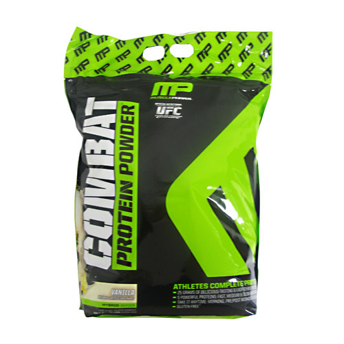 MusclePharm Combat Proteína Powder, Baunilha - 10 lbs