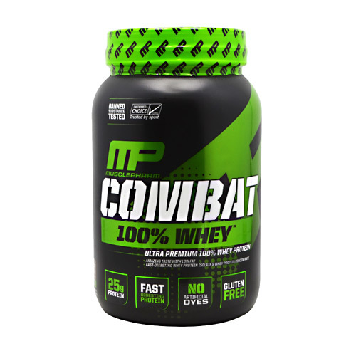 MusclePharm Combat 100% Whey - 2 lbs