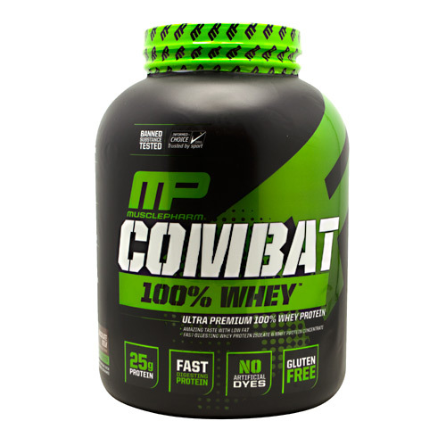MusclePharm Combat 100% Whey - 5 lbs