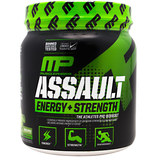 Assault Energy + Strength Pre-Workout