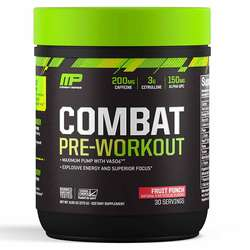 MusclePharm Combat Pre-Workout Fruit Punch