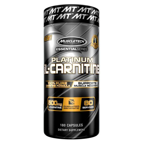 MuscleTech Platinum 100% Carnitine - 500 mg - 180 capsules - 300423_front.jpg
