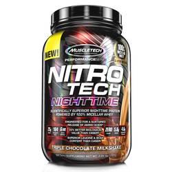 MuscleTech Nitro-Tech Nighttime Protein