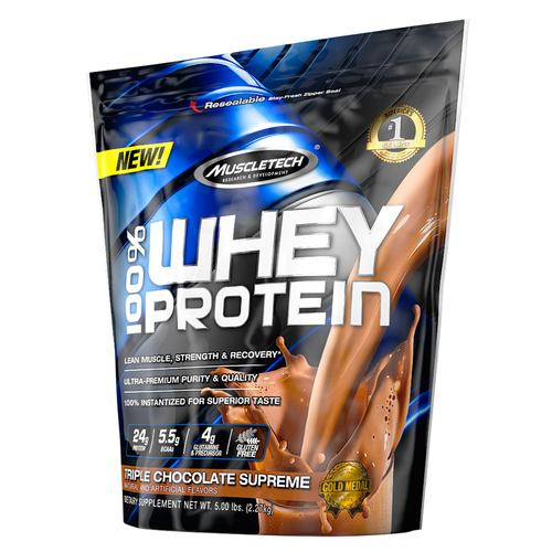 100% Whey Protein Powder Triple Chocolate Supreme