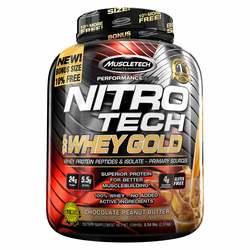 MuscleTech Nitro-Tech Whey Gold Chocolate Peanut Butter