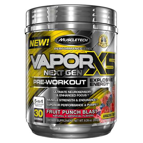 VaporX5 Next Gen Pre-Workout