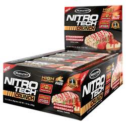 MuscleTech Nitro-Tech Crunch Strawberry Cheesecake