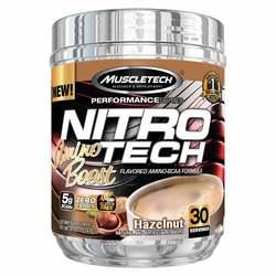 MuscleTech Nitro-Tech Amino Boost Performance Series Hazelnut